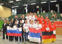 Medalja tudi za moško ekipo – Slovenci podprvaki