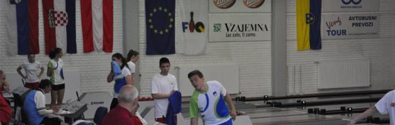 Ekipno državno prvenstvo U18 – Zmaga za Brest in Celje