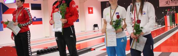 Brigita Strelec za las ob finale – BRONASTA MEDALJA