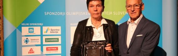Sonja Poljšak prejela prestižno priznanje