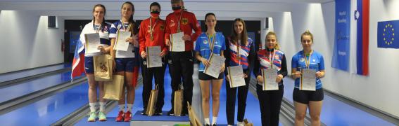 SP U23 Kranj in Kamnik – 2. dan – Bron za dekleta v tandemu